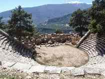 Ancient theater of Arycanda