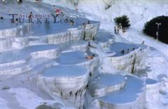 Chalk formations in Pamukkale