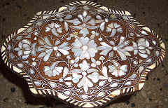 Mother of pearl (Sedef) inlay table