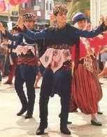 Zeybek folk dance